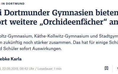 Presseberichte zum Kooperationsprojekt zwichen Dortmunder Gymnasien