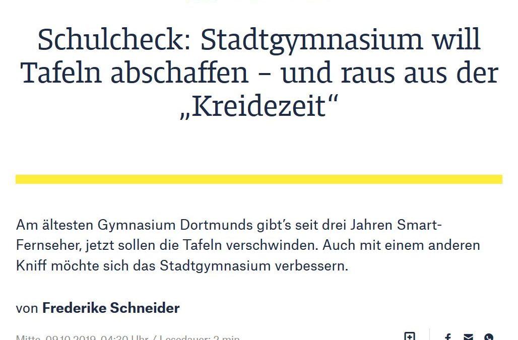 """Das StG im Schulcheck: Raus aus der """"Kreidezeit"""""""