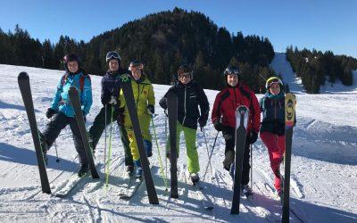 Skiexkursion der Stufe 9 nach Steibis im Allgäu