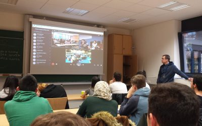 Physik-LK am Stadtgymnasium begibt sich an die Spitze der Forschung im Bereich der Teilchenphysik