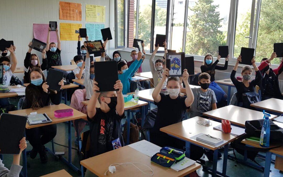 Stadtgymnasium ist digitalste Schule der Stadt
