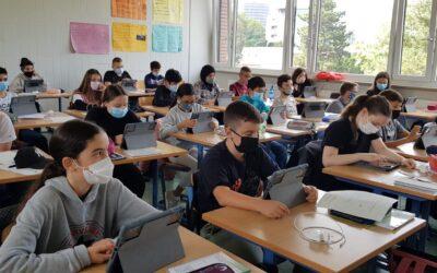 Ein lang ersehnter Tag – Einführung der iPads in der Pilotklasse 7c
