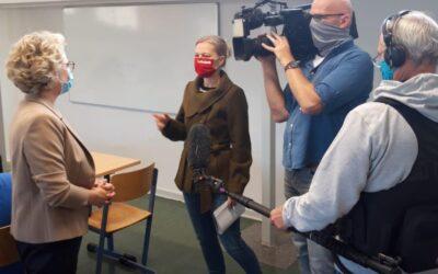 WDR-Lokalzeit berichtet über Digitalisierung am Stadtgymnasium