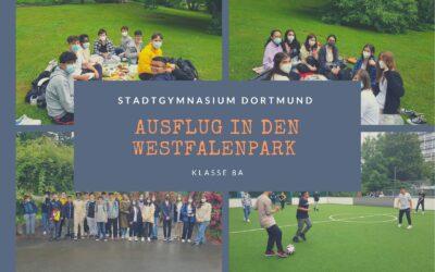 Ausflug der Klasse 8a in den Westfalenpark