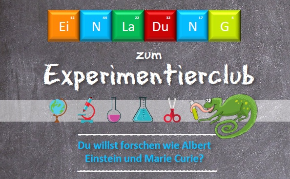 Experimentierclub für Grundschülerinnen und Grundschüler